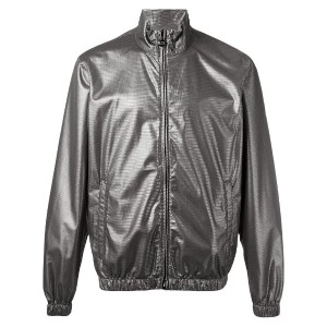 Emporio Armani - iridescent zip jacket - men - ポリエステル - M