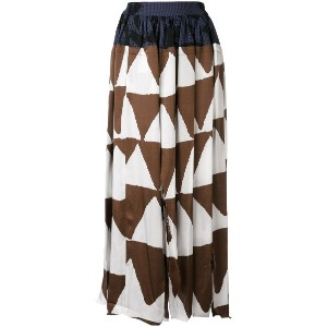 Vivienne Westwood Anglomania - printed skirt - women - ビスコース - 44