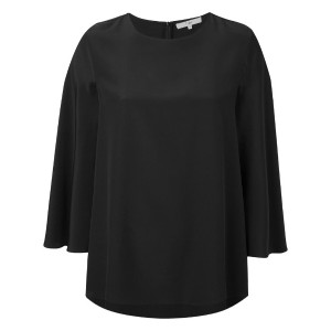 Tibi - cape top - women - シルク - 8