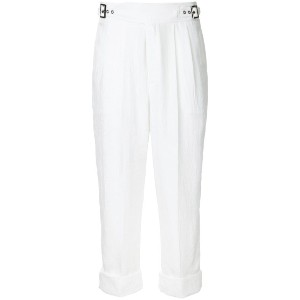 Tom Ford - cropped trousers - women - アセテート - 38