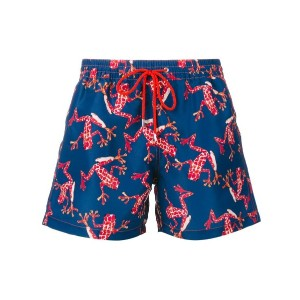 Paul Smith - frog print swim shorts - men - コットン - L