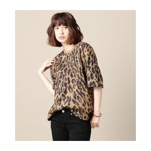 <VOTE MAKE NEW CLOTHES>レオパードビッグTシャツ【ビューティアンドユース ユナイテッドアローズ/BEAUTY&YOUTH UNITED ARROWS Tシャツ・カットソー】