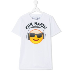 Mc2 Saint Barth Kids - Sun barth Tシャツ - kids - コットン - 16 yrs