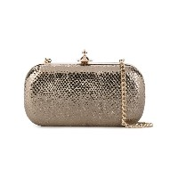 Vivienne Westwood - metallic clutch - women - レザー - ワンサイズ