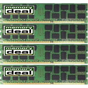 Mac メモリ DDR3 PC3-8500 1066MHZ ECC REG 240PIN 32GB (8GB x 4枚) Mac Pro 対応メモリ