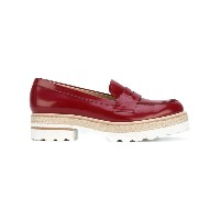 Fratelli Rossetti - stacked sole loafers - women - レザー/rubber - 39