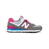 New Balance - 574 core plus sneakers - women - レザー/スエード/コットン/rubber - 38