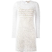 Michael Michael Kors - crochet bodycon dress - women - コットン/ポリエステル - M