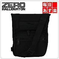 ZEROHALLIBURTON ZEST ゼスト Hobo Bag Shoulder Bag Black ブラック 732-BK