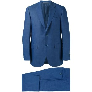 Canali - two piece suit - men - キュプロ/ウール - 58