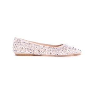 Giambattista Valli - embellished pumps - women - Satin Ribbon - 36