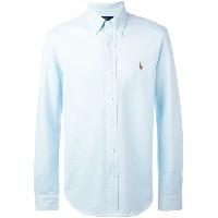 Ralph Lauren - embroidered logo shirt - men - コットン - S