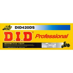 420DS-140RB【税込】 DID バイク用チェーン(カラー:スチール / リンク数:140) ノン シール チェーン [420DS140RB]【返品種別A】【RCP】