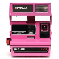 【送料無料】 IMPOSSIBLE POLAROID 600 PINK CAMERA