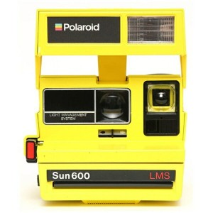 【送料無料】 IMPOSSIBLE POLAROID 600 Camera 80s Custom Block Color Yellow 4615[生産完了品 在庫限り]
