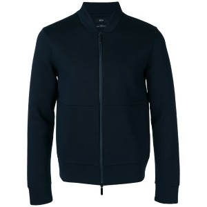 Boss Hugo Boss - zipped jacket - men - コットン/ポリエステル - M