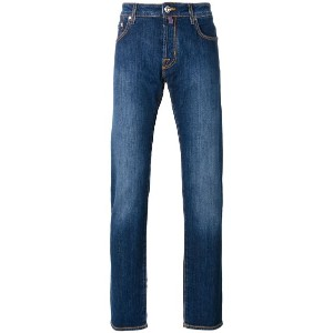 Jacob Cohen - faded effect jeans - men - コットン/スパンデックス - 34