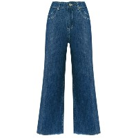 Lilly Sarti - denim culotte jeans - women - コットン - 36