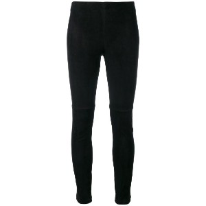 Theory - Navalane leggings - women - ラムスキン - 4