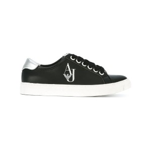 Armani Jeans - logo trainers - women - ポリエステル/Synthetic Resin/rubber - 40