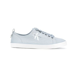 Calvin Klein - canvas logo trainers - women - Tactel/rubber - 36