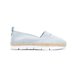Calvin Klein Jeans - logo espadrilles - women - コットン/Tactel/rubber - 38