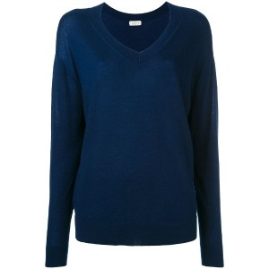 Le Kasha - v-neck jumper - women - カシミア - S