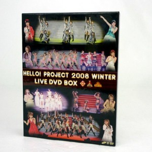 【中古】HELLO!PROJECT 2008 WINTER LIVE DVD BOX / アイドル DVDーBOX 【CD部門】【山城店】