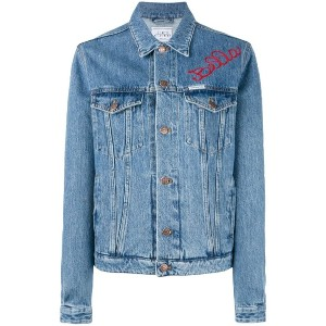 Forte Couture - embroidered denim jacket - women - コットン - 44