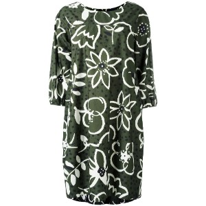 Aspesi - oversized floral dress - women - コットン - 40