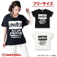 10%OFF×P10倍 50%OFF SUMMER SALE大人限定★UNITEDTシャツ-大人 レディース ベビードール BABYDOLL starvations-9351A_ss_sts
