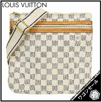 【LOUIS VUITTON/ルイ・ヴィトン】 ダミエ・アズール ポシェット・ボスフォール N51112 【中古】≪送料無料≫