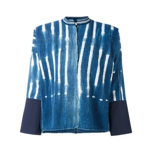 Forte Forte - raw printed denim jacket - women - コットン - 2