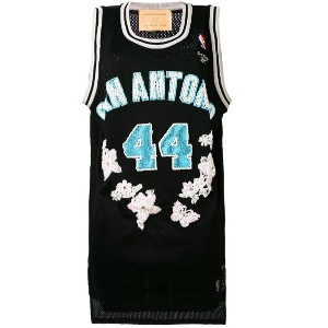 Night Market - S. Antonio embroidered NBA tank - women - ポリエステル - ワンサイズ