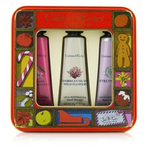 クラブツリー&イヴリン Modern Floral Hand Therapy Tin Set 3x25g