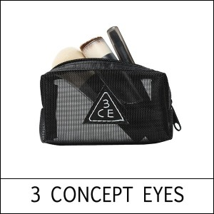 [3 CONCEPT EYES] 3CE Mesh Brush Kit - Black