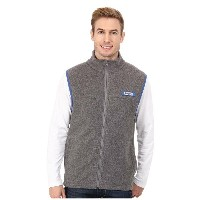 コロンビア Columbia メンズ アウター コート【Harborside Fleece Vest】Cool Grey Heather/Vivid Blue