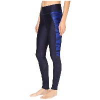 アンダーアーマー Under Armour レディース ボトムス レギンス【UA Fly-By Printed Legging】Midnight Navy/Midnight Navy