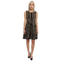 ミッソーニ M Missoni レディース トップス ワンピース【Lurex Vertical Stripe Sleeveless Dress】Black