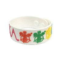 ミシカ MISHKA BEARMOP RUBBER BAND(WHITE)