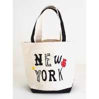 Liberty Bell(リバティベル)トートバッグS /New York(OFF WHITE×BLACK)