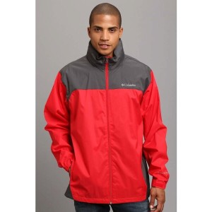 コロンビア Columbia メンズ アウター コート【Glennaker Lake Rain Jacket】Bright Red/Grill