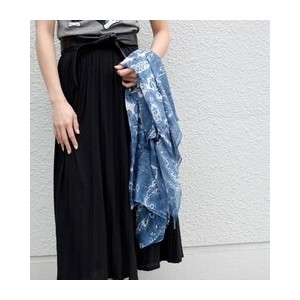 PAISELY PRINT STOLE【シップス/SHIPS ストール】