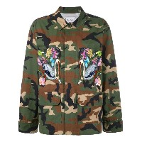 Forte Couture - embroidered military jacket - women - コットン - S