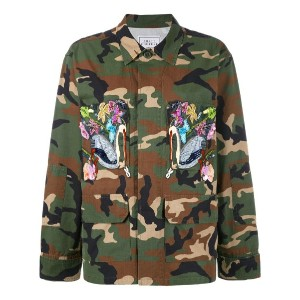 Forte Couture - embroidered military jacket - women - コットン - M