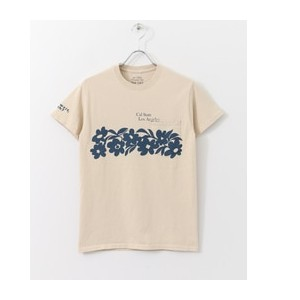 Sonny Label THE DAY ON THE BEACH CaliFlower【アーバンリサーチ/URBAN RESEARCH Tシャツ・カットソー】