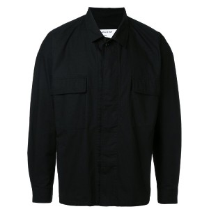 monkey time - flap pocket shirt - men - コットン - XL