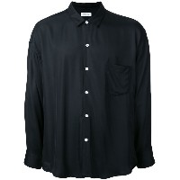 monkey time - chest pocket shirt - men - レーヨン - S