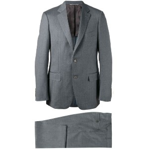 Canali - two piece suit - men - キュプロ/ウール - 54
