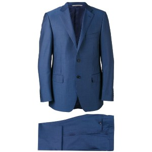 Canali - two piece suit - men - キュプロ/モヘア/ウール - 54
